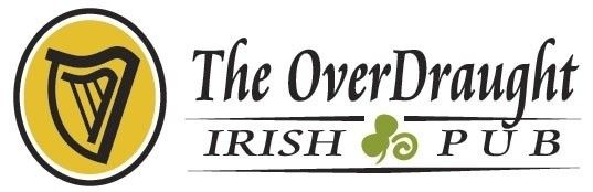 The OverDraught Irish Pub Logo